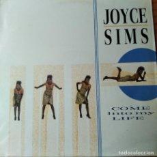 Disques de vinyle: JOYCE SIMS - COME INTO MY LIFE - LP. Lote 259257135