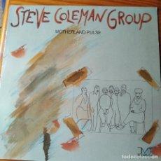 Discos de vinilo: STEVE COLEMAN GROUP - MOTHERLAND PULSE - LP. Lote 259261995