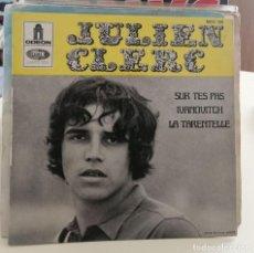 Discos de vinilo: JULIEN CLERC - SUR TES PAS- EP ODEON. Lote 259281800
