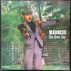 Discos de vinilo: MADNESS ONE BETTER DAY STIFF RECORDS 20.339A VIC-155 MAXI PROMO SPAIN 1984 VINILO VG+ CARPETA VG+. Lote 259297260