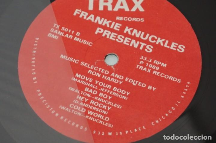 Discos de vinilo: # VINILO 12´´ - MAXI-SINGLE - Frankie Knuckles Presents - Music Selected And Edited By Ron Hardy - Foto 4 - 259303940