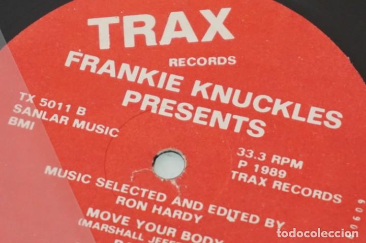 Discos de vinilo: # VINILO 12´´ - MAXI-SINGLE - Frankie Knuckles Presents - Music Selected And Edited By Ron Hardy - Foto 5 - 259303940