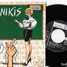 """Discos de vinilo: LOS NIKIS 7"""" SPAIN 45 YES I DO + ENRIQUE EL ULTRASUR 1990 SINGLE VINILO PUNK ROCK 3 CIPRESES MIRA !!. Lote 259310265"""