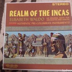 Discos de vinilo: ELISABETH WALDO–REALM OF THE INCAS. LP EDICIÓN USA. PERFECTO ESTADO. Lote 259331495