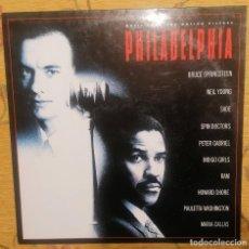 Discos de vinilo: DISCO VINILO LP PHILADELPHIA - BRUCE SPRINGSTEEN, NEIL YOUNG, SADE, MARÍA CALLAS ETC... -. Lote 259717820