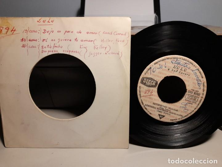 EP LULU Y LOS LUVERS ( PROMOCIONAL, EDICION ESPAÑA, 1965) SIN CUBIERTA ( THE ROLLING STONES ) (Música - Discos de Vinilo - EPs - Pop - Rock Internacional de los 50 y 60)