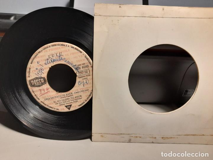 Discos de vinilo: EP LULU Y LOS LUVERS ( PROMOCIONAL, EDICION ESPAÑA, 1965) SIN CUBIERTA ( THE ROLLING STONES ) - Foto 2 - 259718410