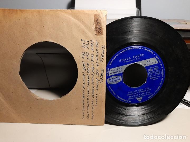 EP SMALL FACES : SHA-LA-LA -LEE ( PROMOCIONAL, EDICION ESPAÑA, 1966) SIN CUBIERTA (Música - Discos de Vinilo - EPs - Pop - Rock Internacional de los 50 y 60)