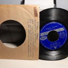 Discos de vinilo: EP SMALL FACES : SHA-LA-LA -LEE ( PROMOCIONAL, EDICION ESPAÑA, 1966) SIN CUBIERTA. Lote 259718880