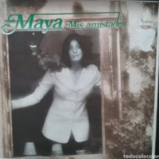 Discos de vinilo: MAYA. LP. SELLO HISPAVOX. EDITADO EN ESPAÑA. AÑO 1983. Lote 259734095