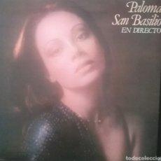 Discos de vinilo: PALOMA SAN BASILIO . LP. PORTADA DOBLE. SELLO HISPAVOX. EDITADO EN ESPAÑA. AÑO 1978. Lote 259734465