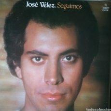 Discos de vinilo: JOSE VELEZ . LP. SELLO COLUMBIA. EDITADO EN ESPAÑA. AÑO 1984. Lote 259743785