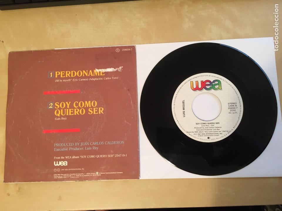 """Discos de vinilo: Luis Miguel - Perdoname - SINGLE RADIO 7"""" - 1988 SPAIN - Foto 3 - 259747940"""