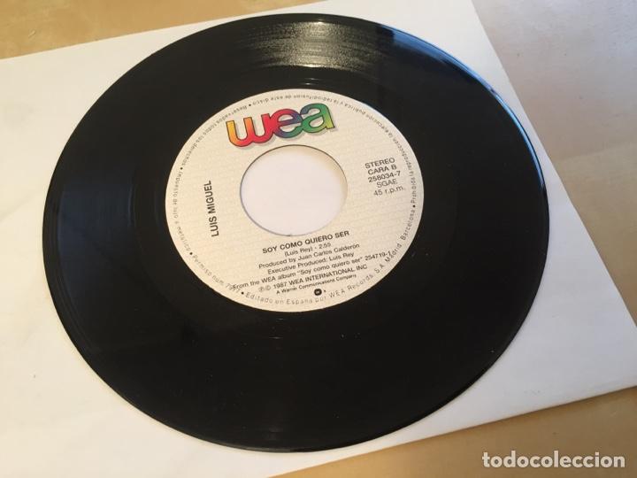 """Discos de vinilo: Luis Miguel - Perdoname - SINGLE RADIO 7"""" - 1988 SPAIN - Foto 4 - 259747940"""