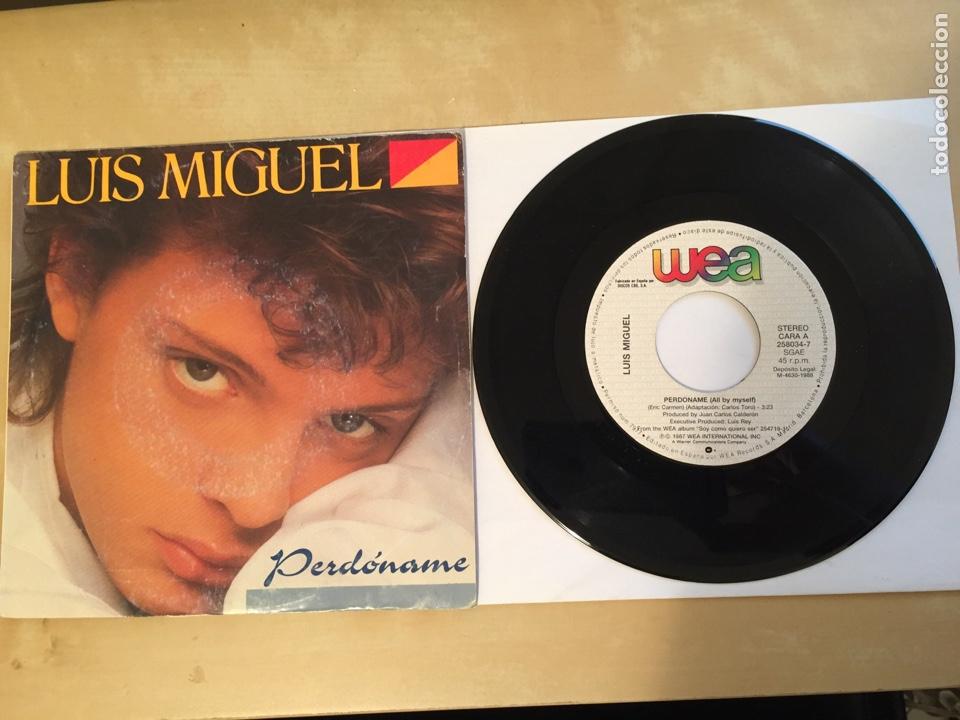 """LUIS MIGUEL - PERDONAME - SINGLE RADIO 7"""" - 1988 SPAIN (Música - Discos - Singles Vinilo - Grupos y Solistas de latinoamérica)"""
