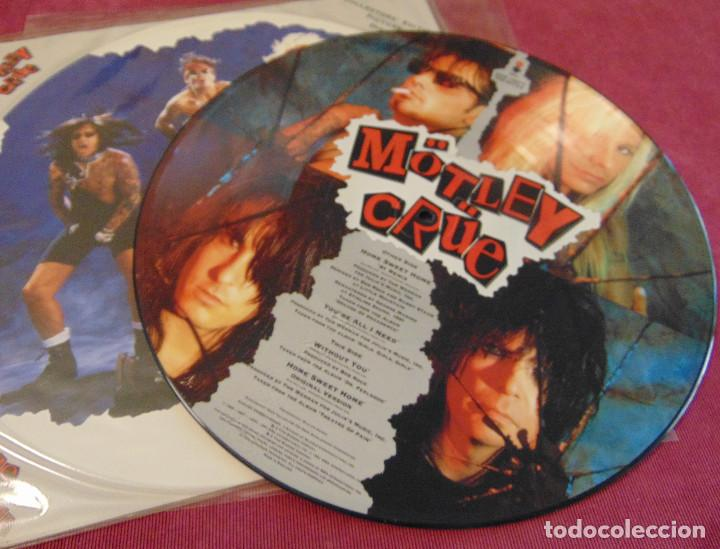 MÖTLEY CRÜE – HOME SWEET HOME '91 REMIX - MAXISINGLE PICTURE DISC 1991 (Música - Discos de Vinilo - Maxi Singles - Heavy - Metal)