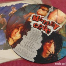 Discos de vinilo: MÖTLEY CRÜE ‎– HOME SWEET HOME '91 REMIX - MAXISINGLE PICTURE DISC 1991. Lote 258758890