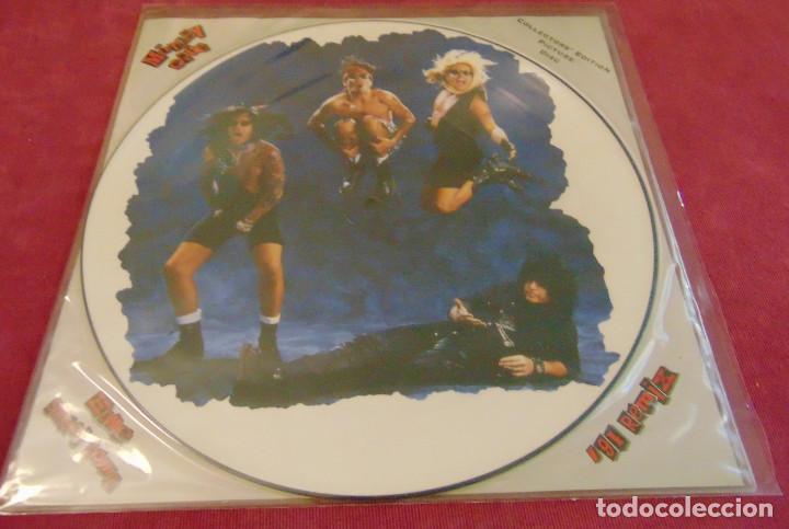Discos de vinilo: Mötley Crüe – Home Sweet Home 91 Remix - maxisingle picture disc 1991 - Foto 2 - 258758890