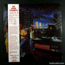 Discos de vinilo: BIG AUDIO DYNAMITE - TIGHTEN UP VOL. 88 - LP AUSTRALIANO CON OBI + ENCARTE 1988 - CBS. Lote 259766330