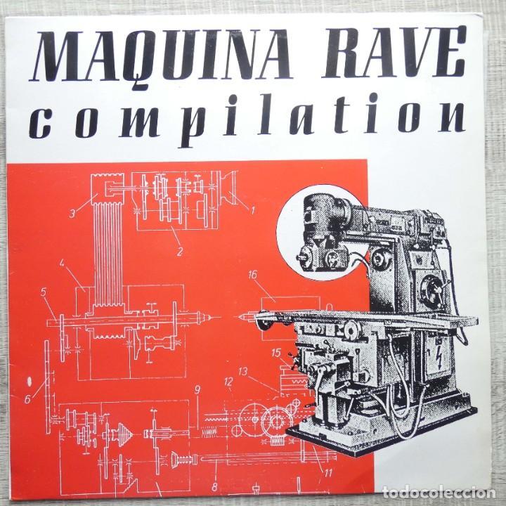 MAQUINA RAVE COMPILATION (Música - Discos - LP Vinilo - Techno, Trance y House)