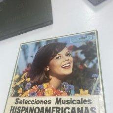 Discos de vinilo: SELECCIONES MUSICALES HISPANOAMERICANAS. Lote 259800595