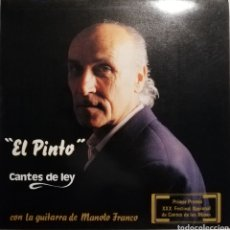 Discos de vinilo: ILDEFONSO PINTO - CANTES DE LEY (LP, 1991). Lote 259808040