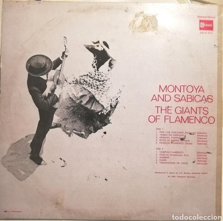 Discos de vinilo: Montoya y Sabicas (LP Stateside, 1961) Holanda - Foto 2 - 259828195