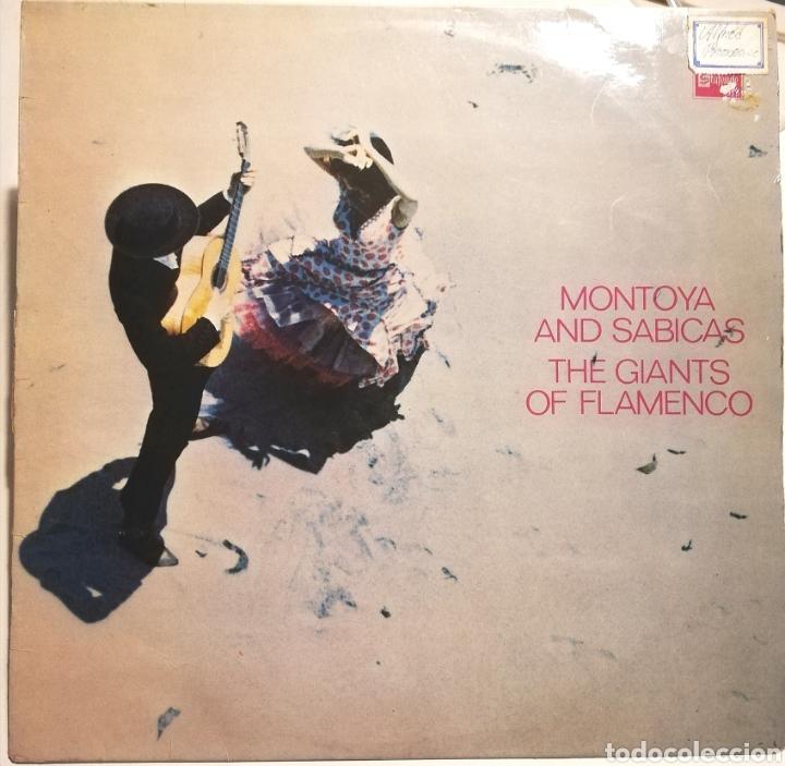 MONTOYA Y SABICAS (LP STATESIDE, 1961) HOLANDA (Música - Discos - LP Vinilo - Flamenco, Canción española y Cuplé)