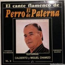 Discos de vinilo: EL PERRO DE PATERNA (LP, 1991). Lote 259829525