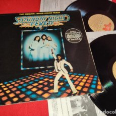 Discos de vinilo: SATURDAY NIGHT FEVER B. OAKES BSO OST 2LP 1977 RSO EDICION ESPAÑOLA SPAIN GATEFOLD. Lote 259831400