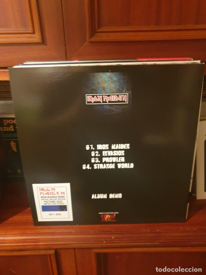 Discos de vinilo: IRON MAIDEN / ALBUM DEMO / ANNAH STIGER PUBLISING 2021 - Foto 2 - 259863090