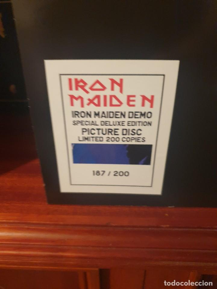 Discos de vinilo: IRON MAIDEN / ALBUM DEMO / ANNAH STIGER PUBLISING 2021 - Foto 3 - 259863090