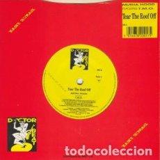 Discos de vinilo: MUTHA HOOD - TEAR THE ROOF OFF - SINGLE UK 1988. Lote 259864540