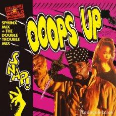 Discos de vinilo: SNAP, OOOPS UP (SPHINX MIX ) - MAXI-SINGLE SPAIN 1990. Lote 259867745