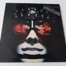 Discos de vinilo: LP JUDAS PRIEST - KILLING MACHINE. Lote 34487638