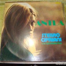 Discos de vinilo: STELVIO CIPRIANI. ANTLE. CARDICS, 1979. SPAIN. IMPECABLE(#). Lote 259895850