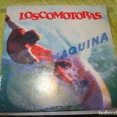 Discos de vinilo: LOSCOMOTORAS. A TODA MAQUINA. VIRGIN, 1989. CON ENCARTE(#). Lote 259897680