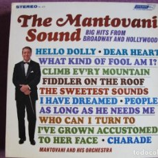Dischi in vinile: LP - MANTOVANI - BIG HITS FROM BROADWAY AND HOLLYWOOD (USA, LONDON RECORDS SIN FECHA). Lote 259900510
