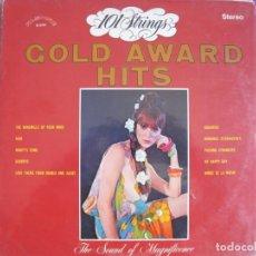 Disques de vinyle: LP - 101 STRINGS - GOLD AWARD HITS (USA, ALSHIRE RECORDS SIN FECHA). Lote 259903675