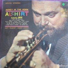 Disques de vinyle: LP - AL HIRT FEAT. JAVA - HONEY IN THE HORN (USA, RCA VICTOR 1963). Lote 259906610