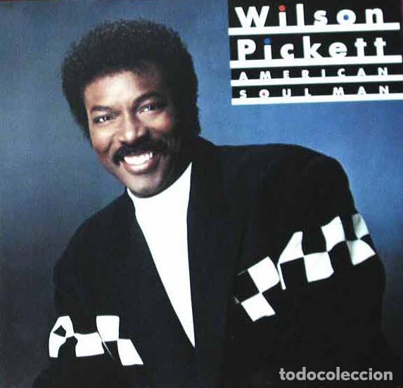 WILSON PICKETT LP * AMERICAN SOUL MAN * 1987 USA * MOTOWN * PRECINTADO!! (Música - Discos - LP Vinilo - Funk, Soul y Black Music)