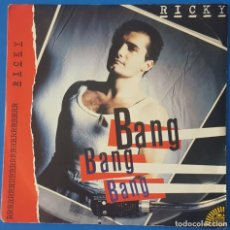 Discos de vinilo: SINGLE / RICKY - BANG, BANG,BANG, 1986 ITALIA (ITALO-DISCO). Lote 259911485