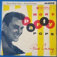 Disques de vinyle: EP / RUSS CONWAY - MORE PARTY POPS, 1959. Lote 259915630
