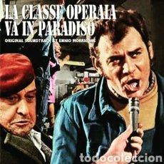 Discos de vinilo: ENNIO MORRICONE–LA CLASSE OPERAIA VA IN PARADISO (ORIGINAL SOUNDTRACK) LP VINILO PRECINTADO.. Lote 259916500