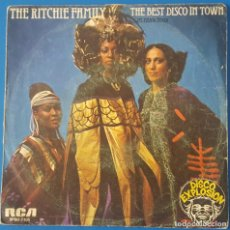 Discos de vinilo: SINGLE / THE RITCHIE FAMILY - THE BEST DISCO IN TOWN (PARTES 1 Y 2), 1976. Lote 259923125