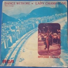 Discos de vinil: SINGLE / THE RITCHIE FAMILY - DANCE WITH ME, 1975. Lote 259924160