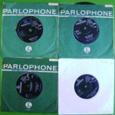Discos de vinilo: LOTE 4 SINGLES DE THE BEATLES (LEER). Lote 259926735
