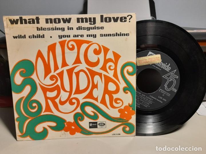 EP MITCH RYDER : WHAT NOW MY LOVE ? (Música - Discos de Vinilo - EPs - Pop - Rock Internacional de los 50 y 60)