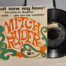 Discos de vinilo: EP MITCH RYDER : WHAT NOW MY LOVE ?. Lote 259937480