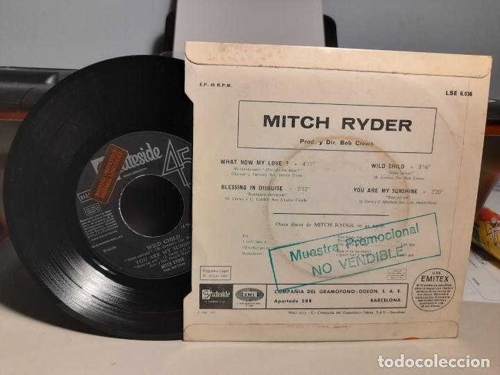 Discos de vinilo: EP MITCH RYDER : WHAT NOW MY LOVE ? - Foto 2 - 259937480